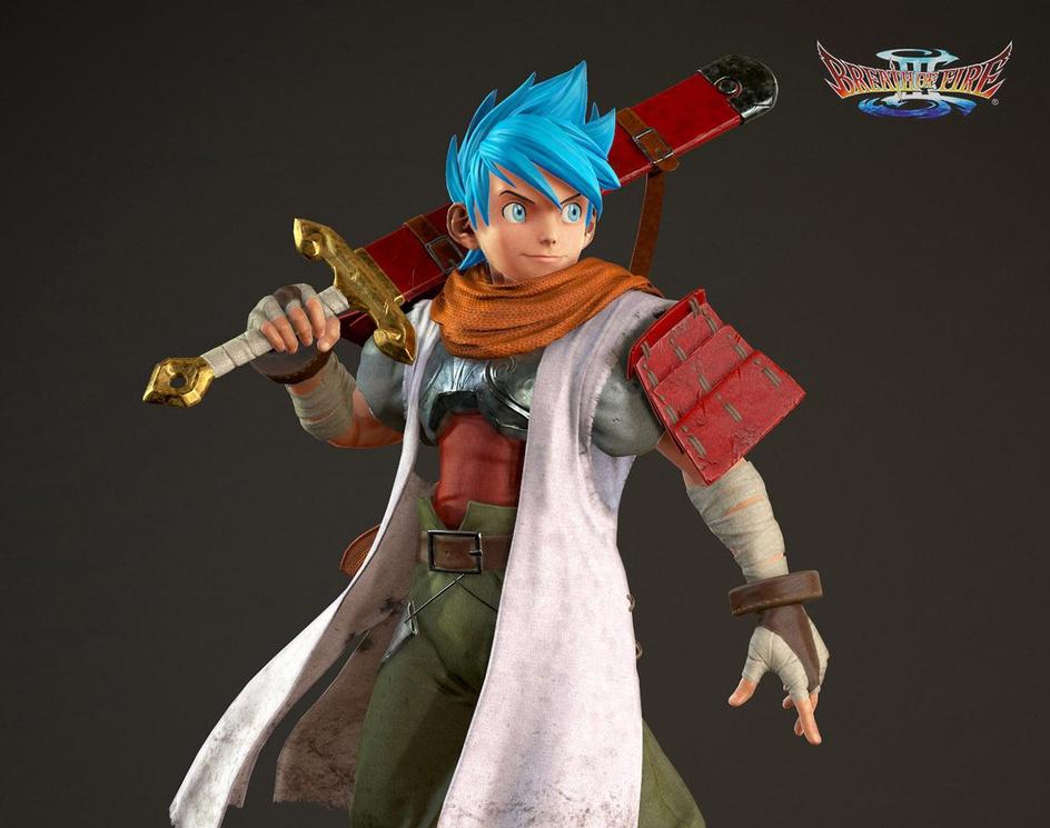 Ryu Breath of fire IIIby CaliCG