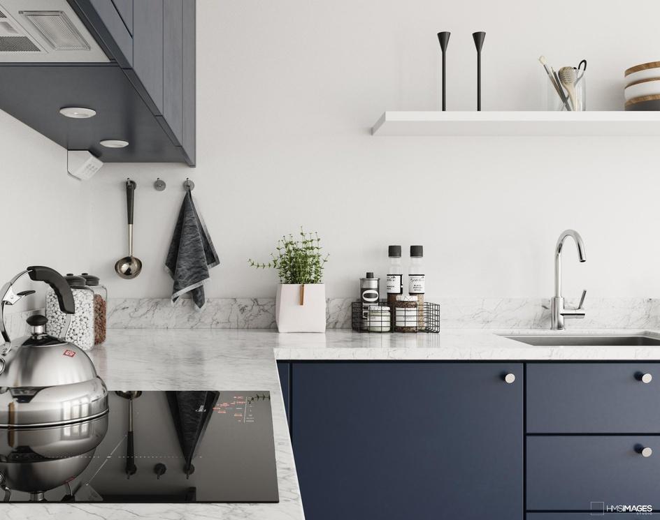 Kitchen Nordic I Norwayby HMS IMAGES STUDIO