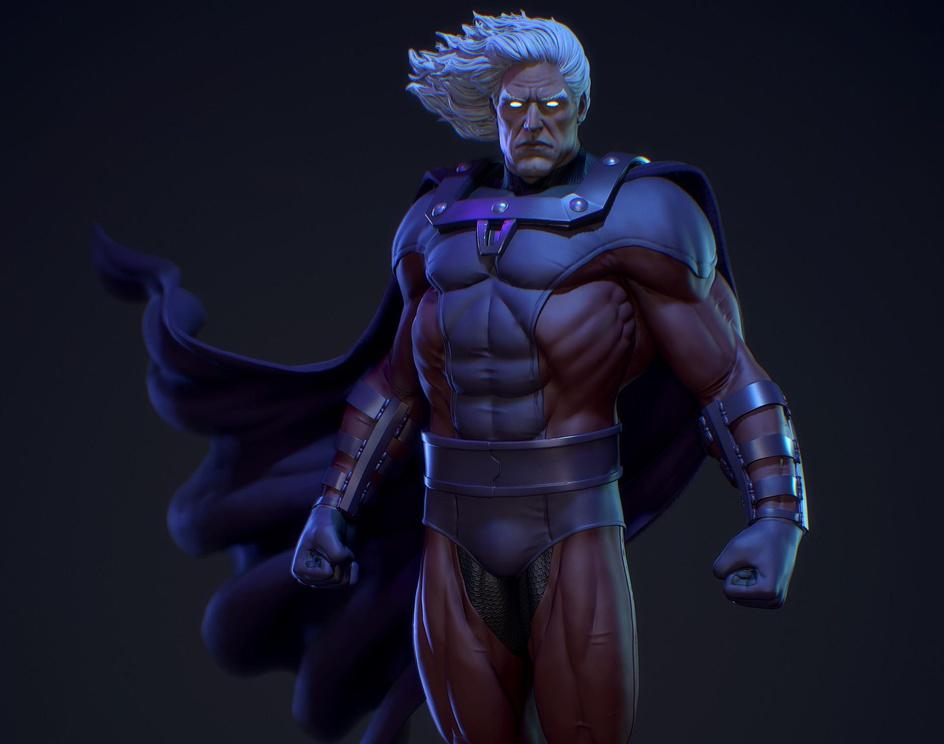 Magneto Fan Artby GabrielDiasMaia