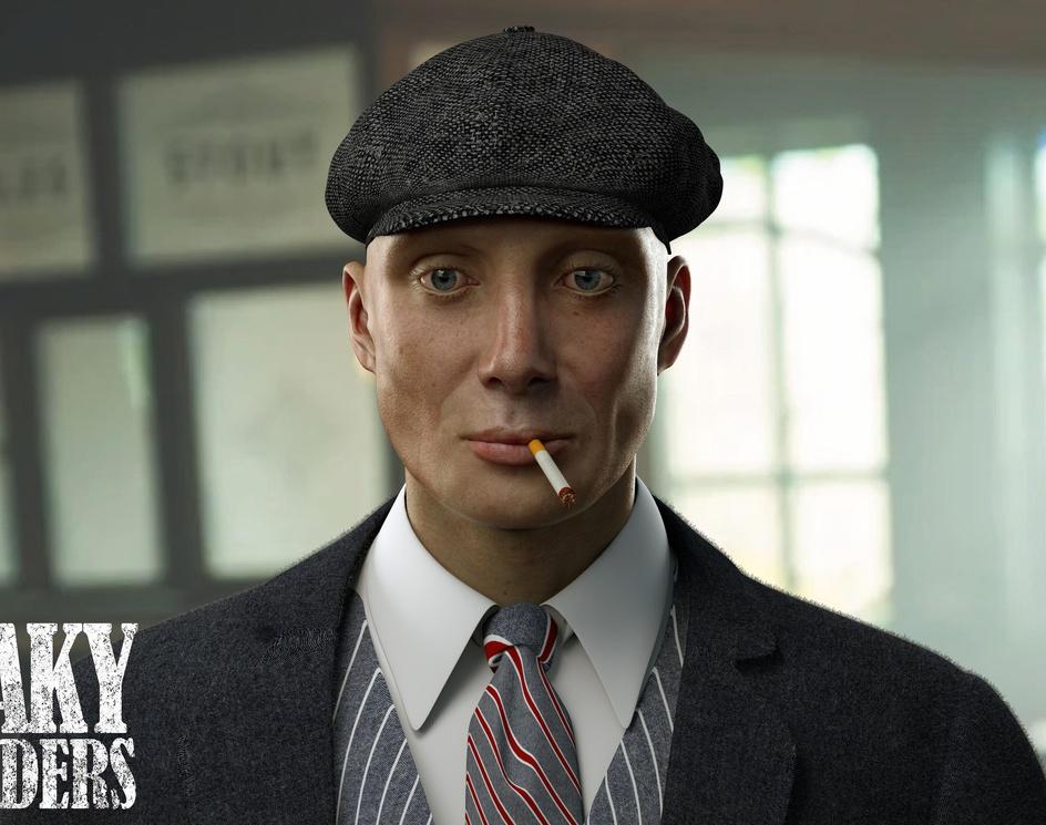 Thomas Shelby-PEAKY BLINDERS - Netflix & Skillby Mohamad esmaili