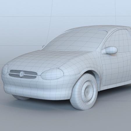 car 3cgi model