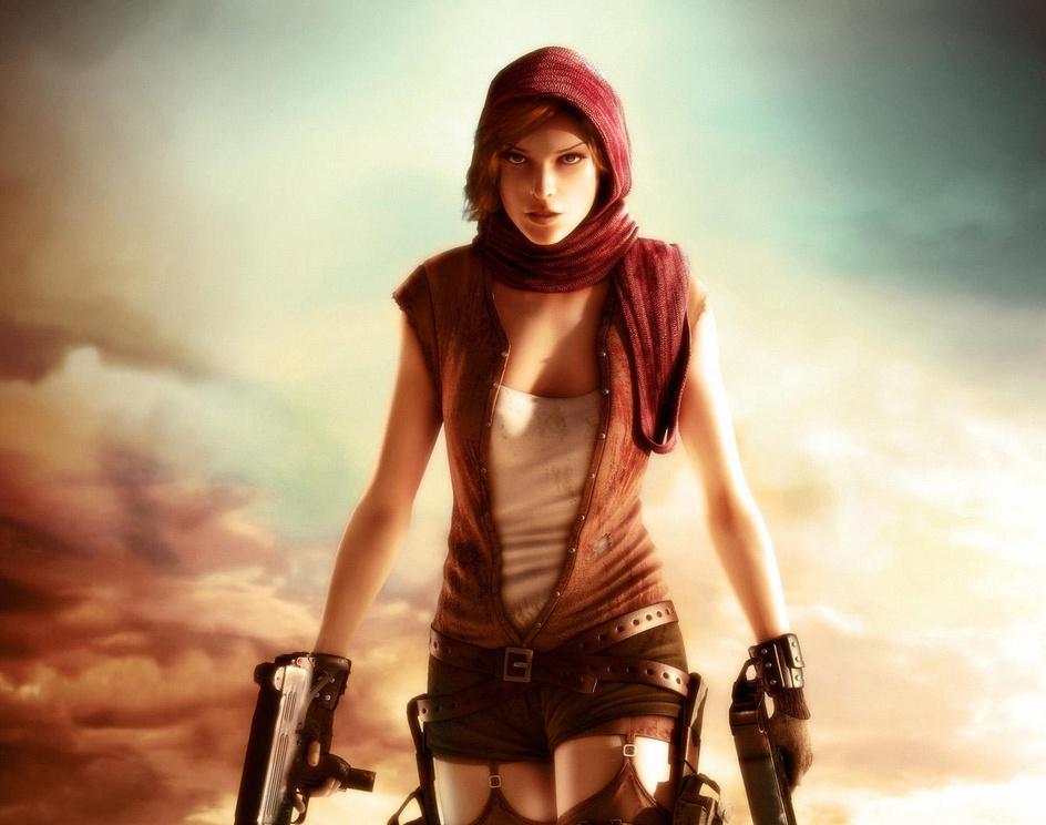 'Resident Evil Extinction'by cardinal