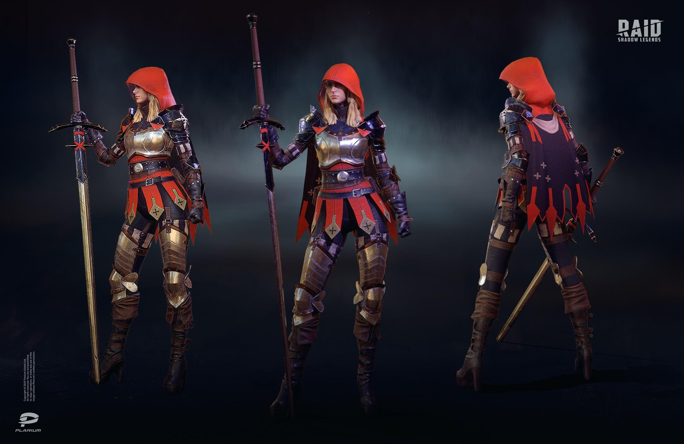 mobile game character design 3d