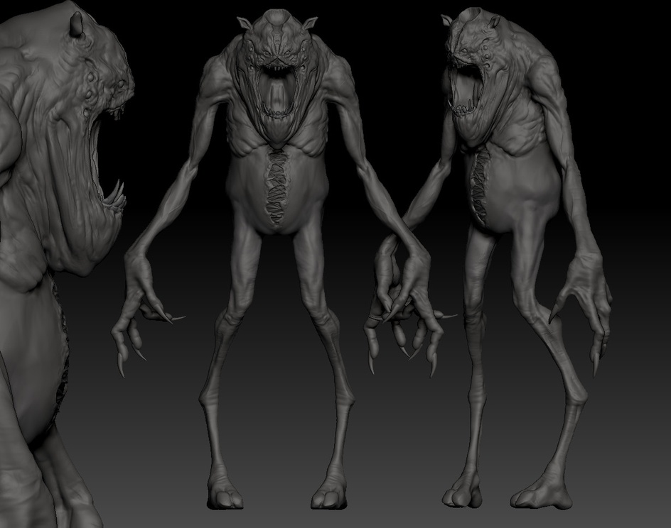 THE JUDGE (CREATURE DESIGN FOR GAME)by villas