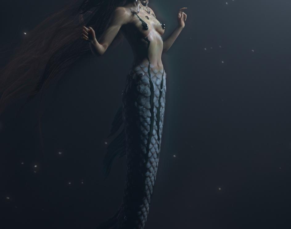 Space Mermaidby Caroline Pricillia Ng