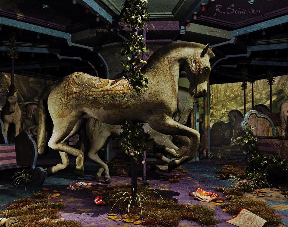 Carousel Horses Uby rschlenker