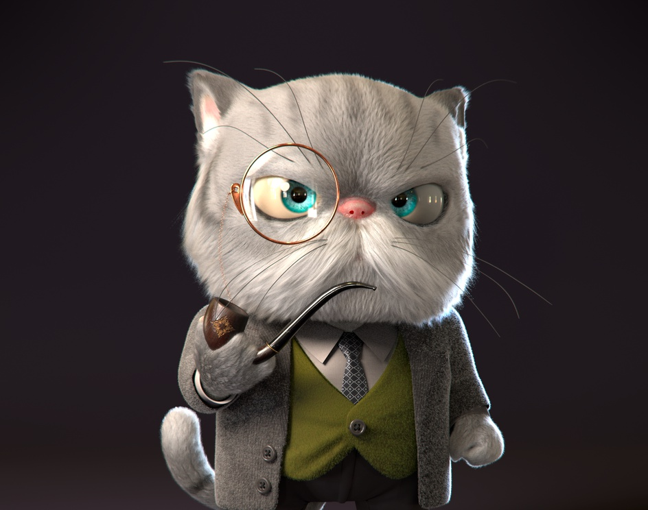 Don Catleone, The Cat Father.by Vinicius Tokue