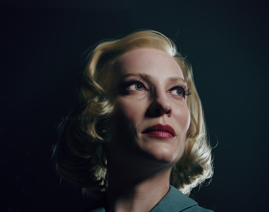 Cate Blanchett (Carol)by Hadi Karimi