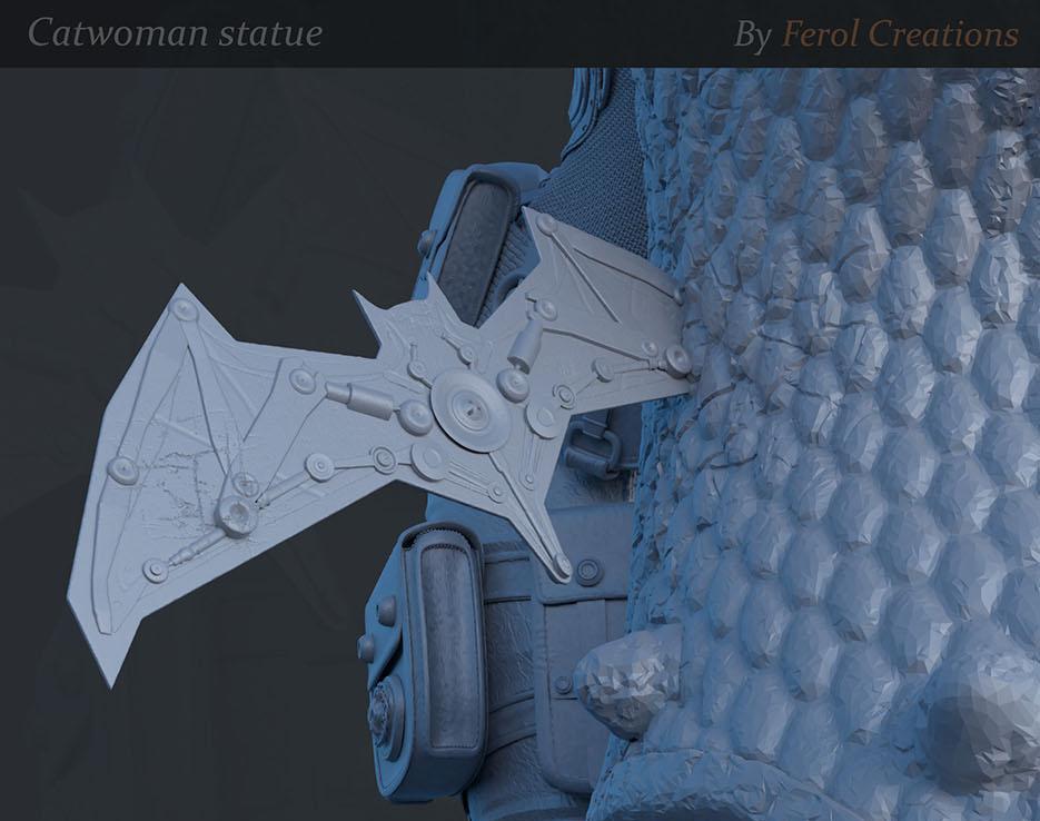 Catwoman Statueby Fernando Olivera
