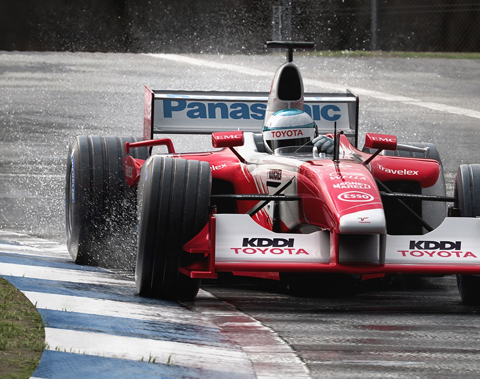 F1 Toyota 2003by cedeee