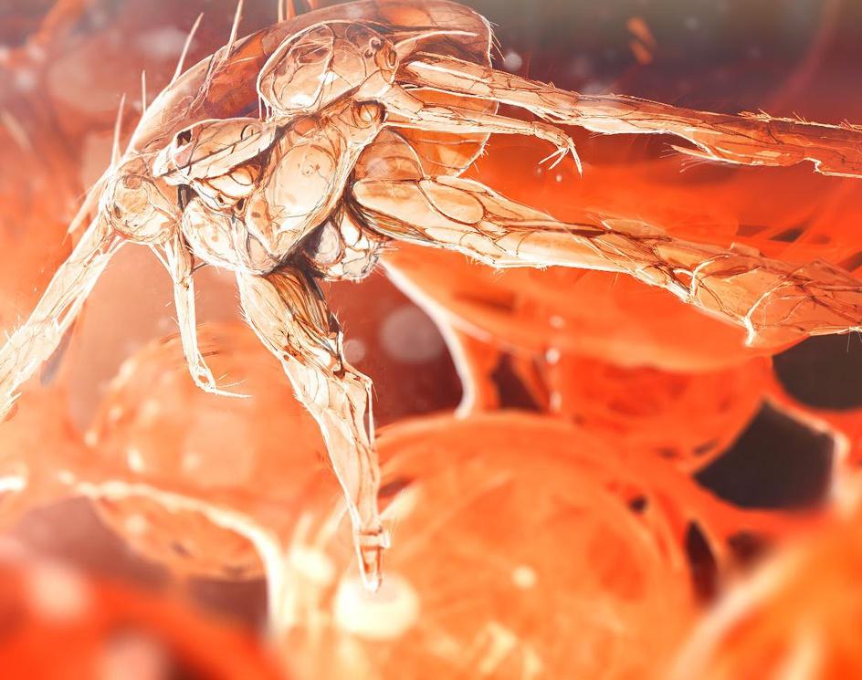 Lymphocyte nano machineby Dofresh
