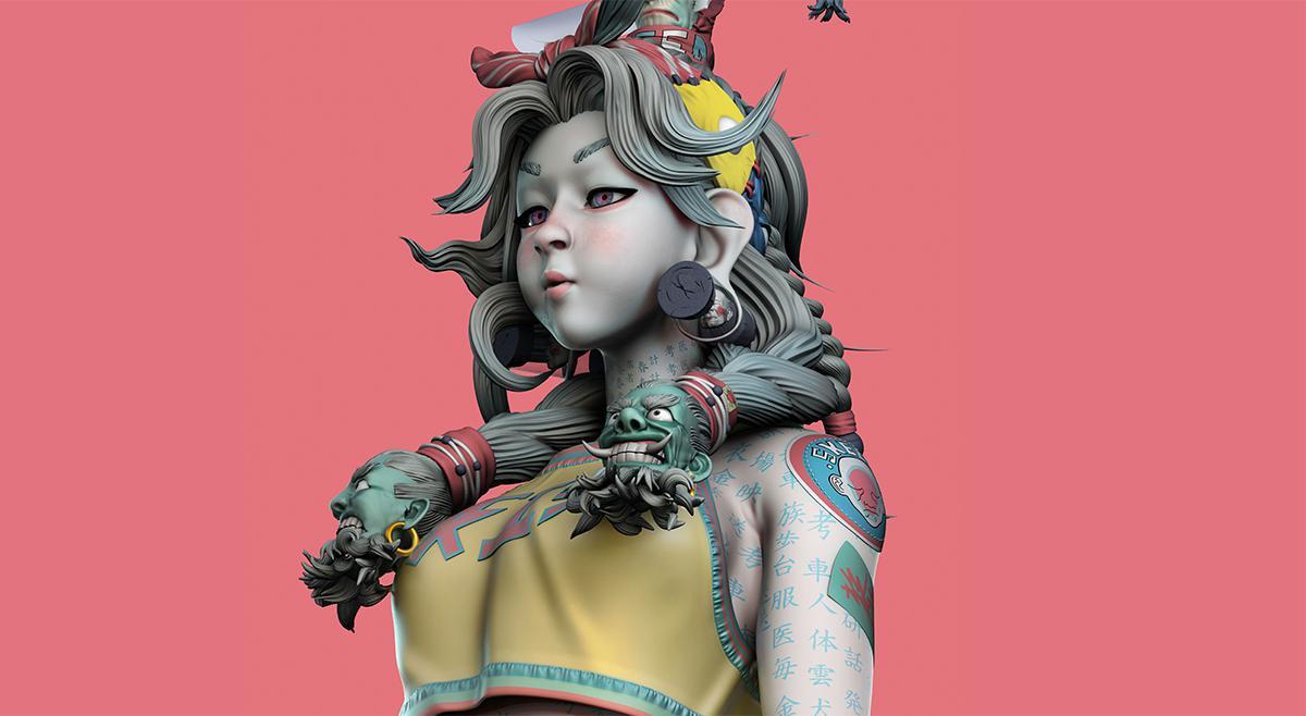 3d model sculpture design