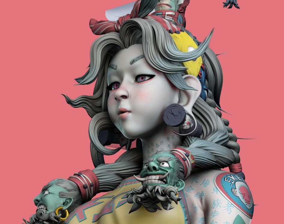 SKEEN GIRL - ZEEN CHINby Moacirjr
