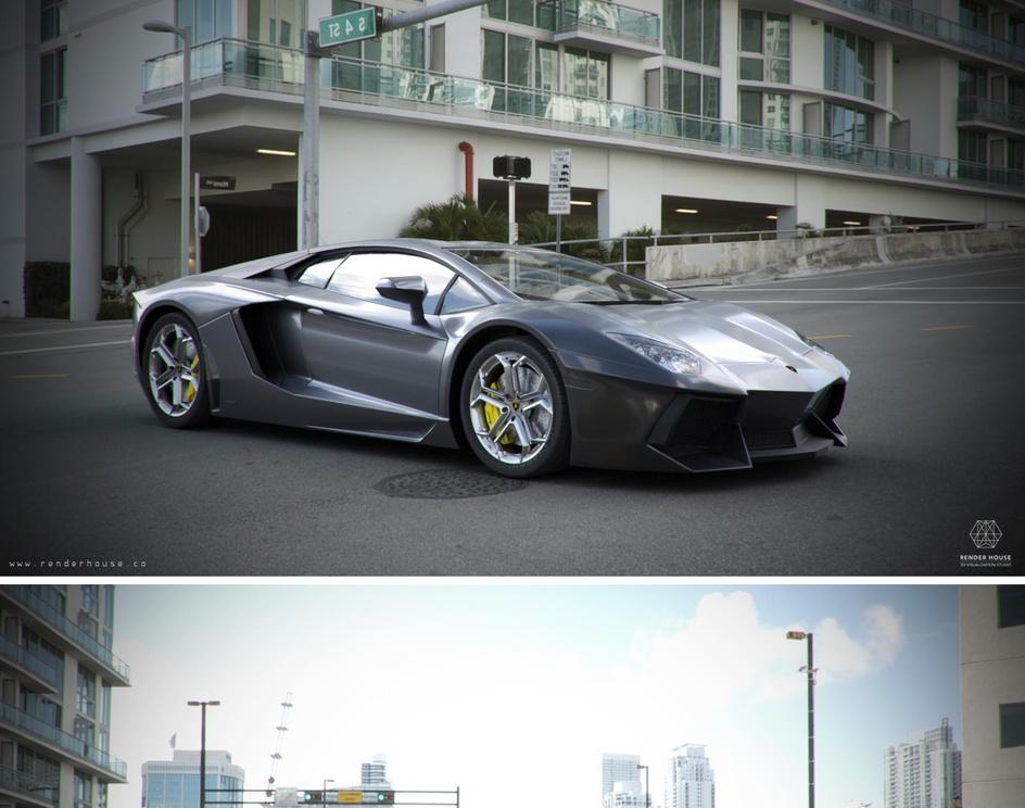 Lamborghini Aventadorby Cgman