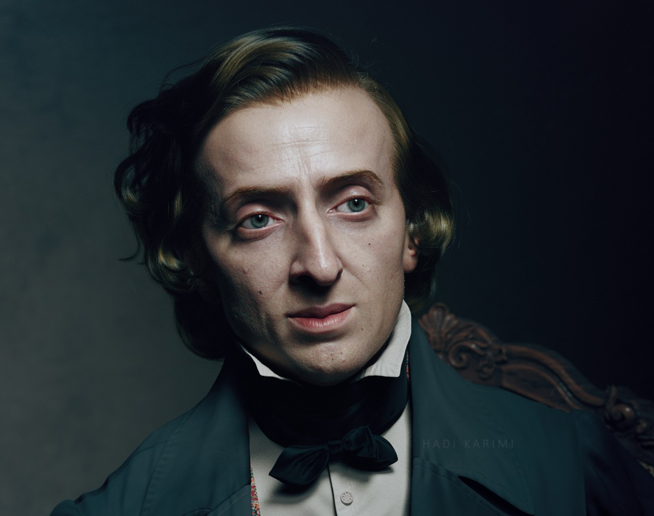 Fryderyk Chopin (1847)by Hadi Karimi