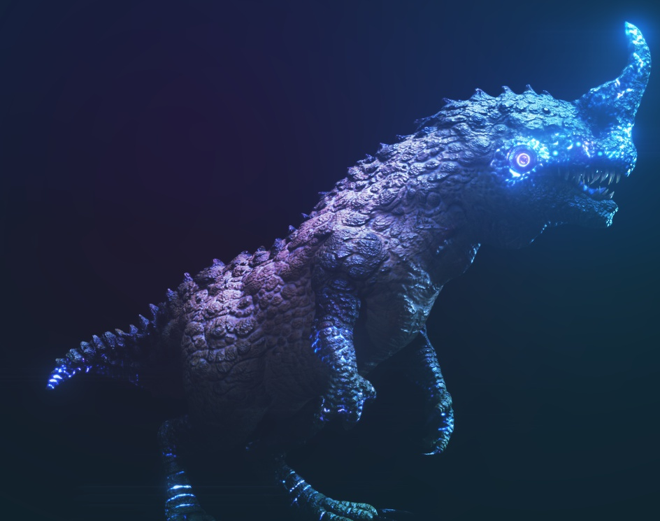 Alien Theropods Chasmoceraby Nelson R Junior