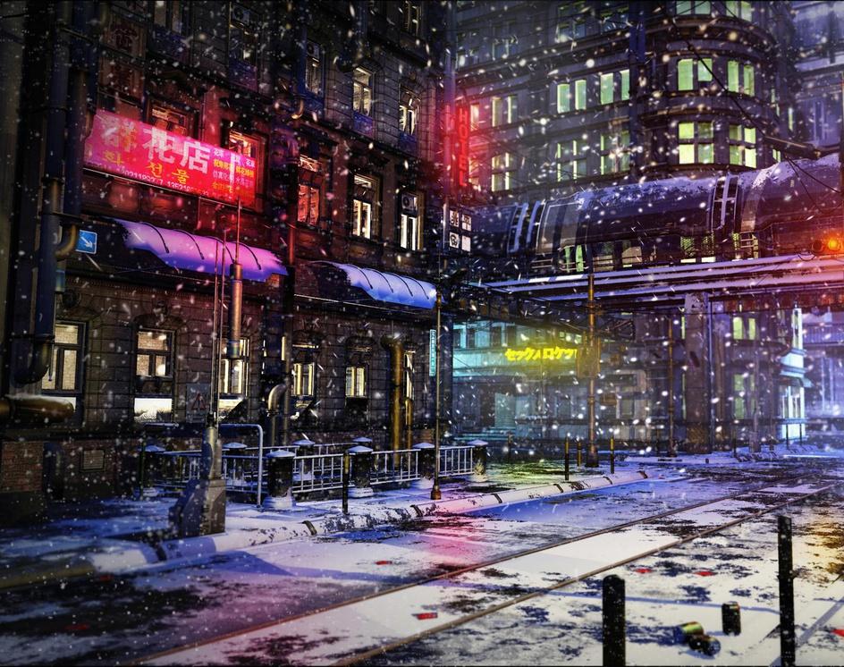 City Lightsby rschlenker