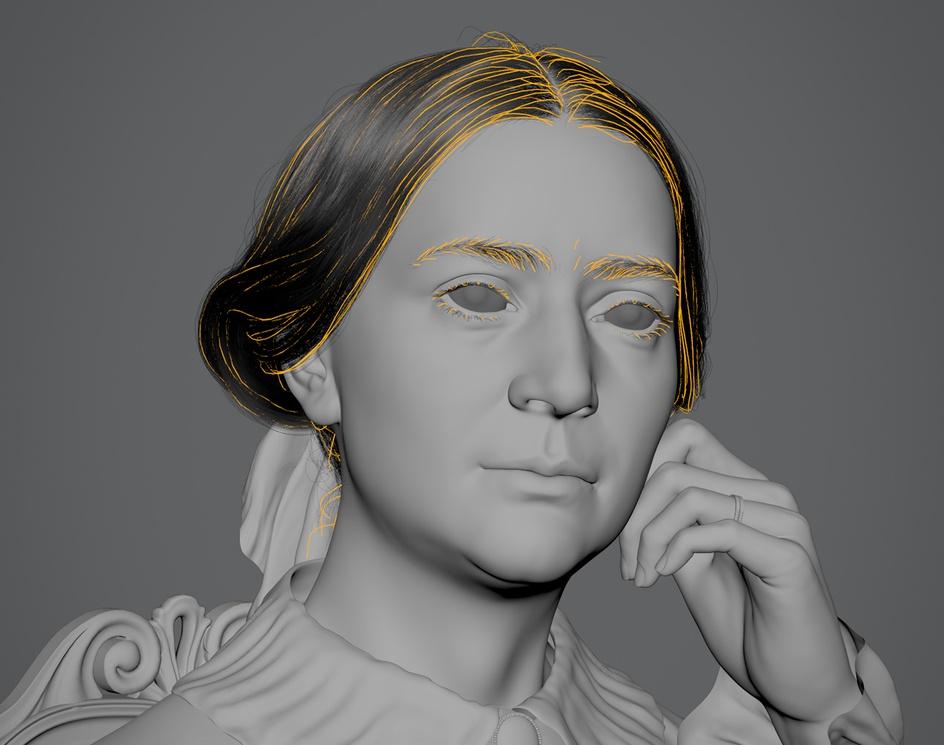 Clara Schumann (1856)by Hadi Karimi