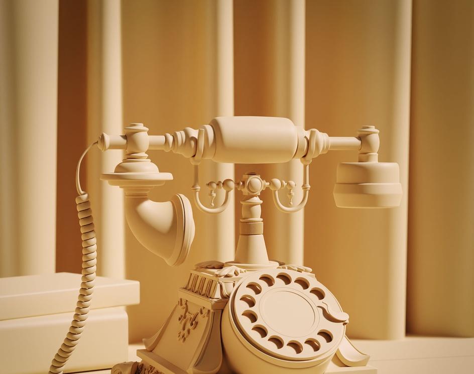 Old Vintage Telephoneby Walterjr94