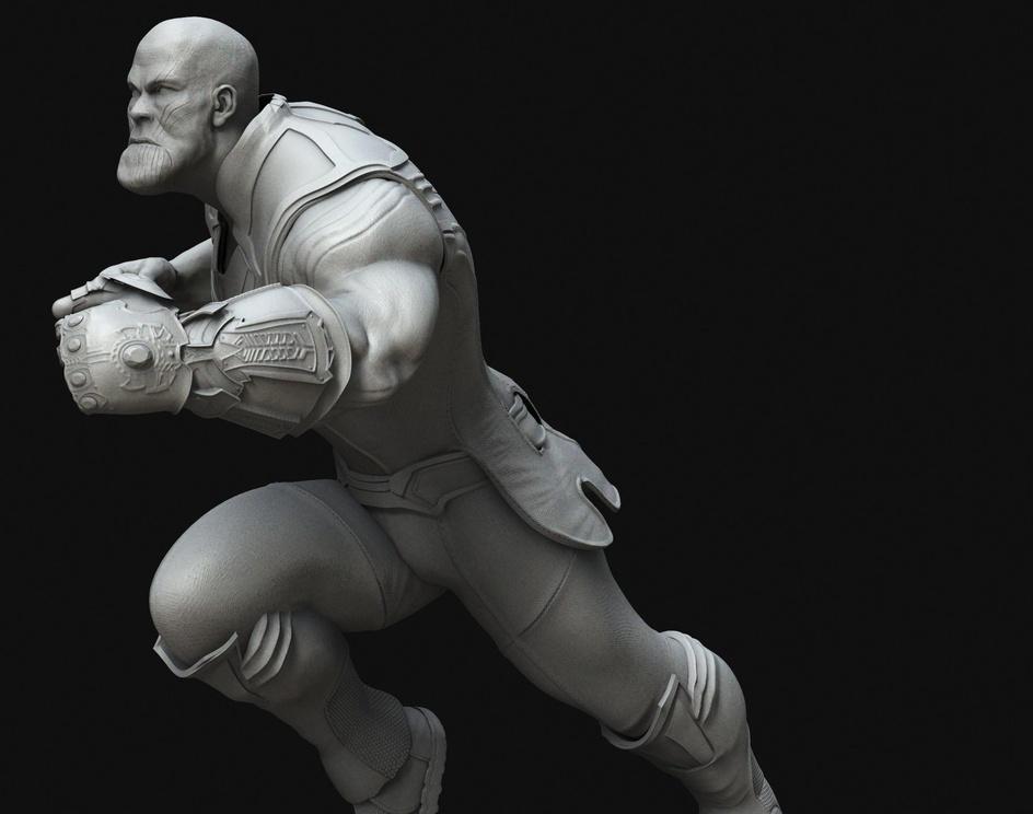 Thanos fanartby Toni