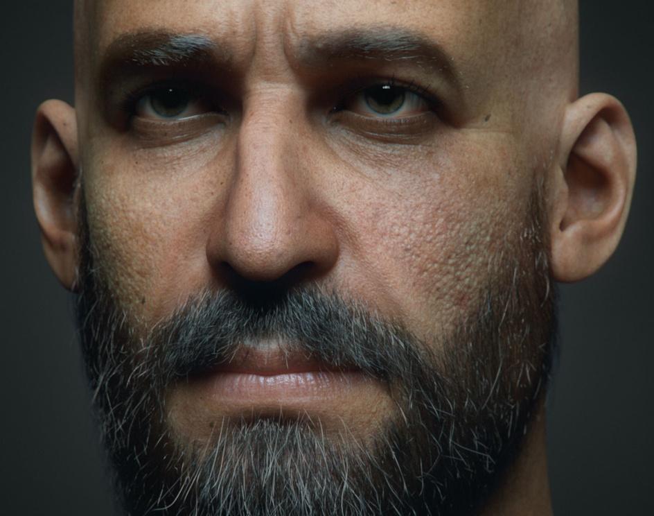 Male portraitby mohamed farouk