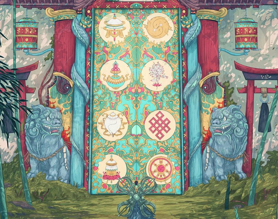 The Eight Jewels Gateby Christian Benavides