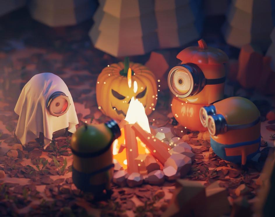 Spooky Minnion Campby Burak Gök