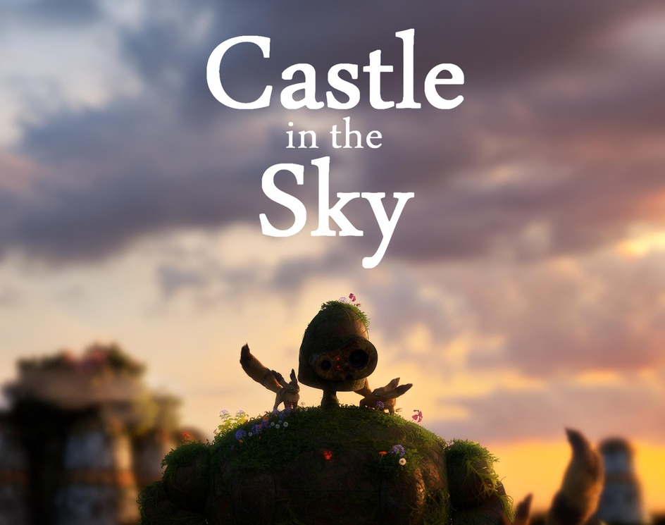 Castle in the Skyby Vitor Maccari
