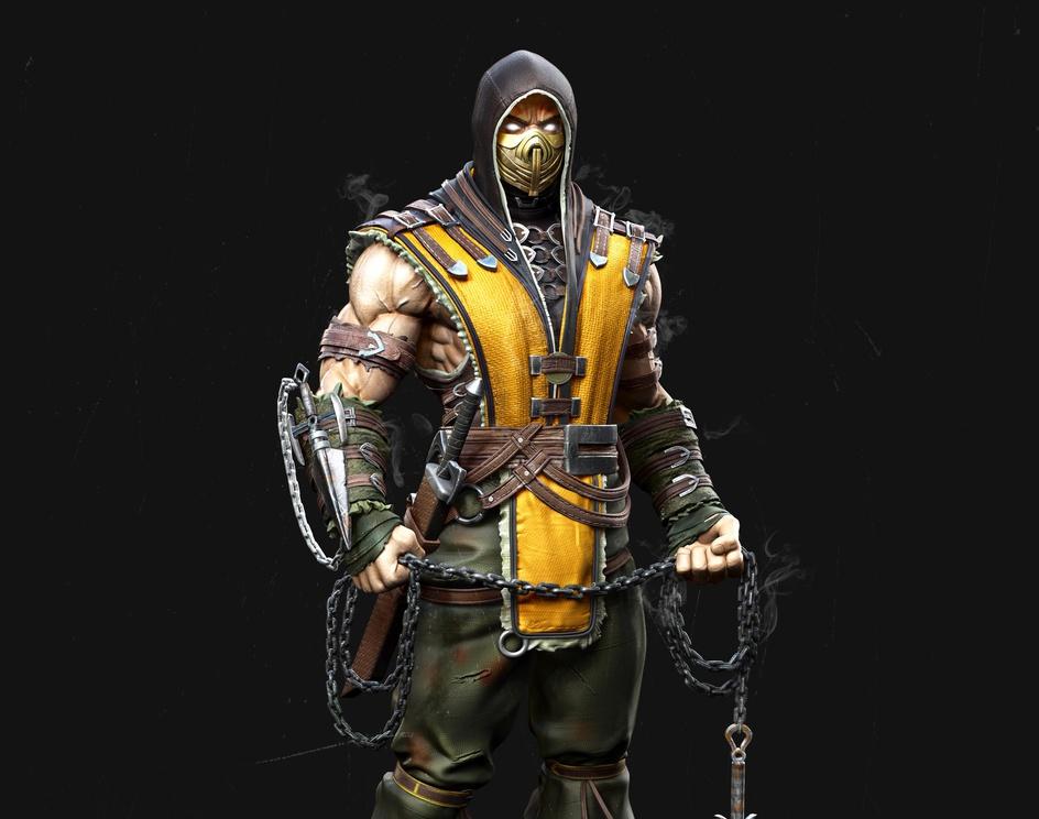 Scorpion Fan Artby Anil gurung