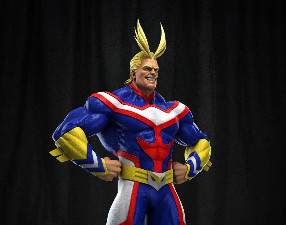 ALL MIGHT- Boku No Hero Academiaby susheel kumar