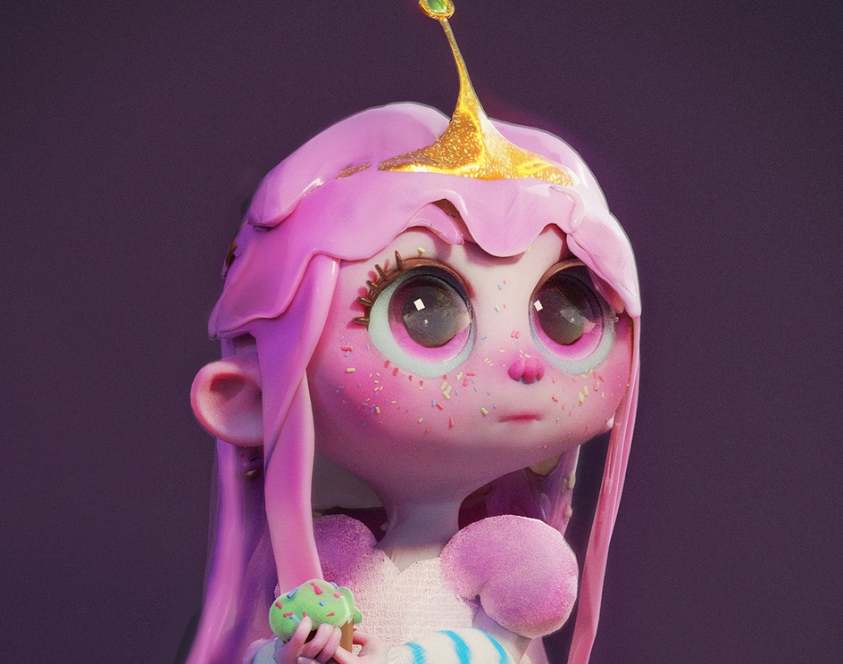 Princess Bubblegumby jhonatan lechar