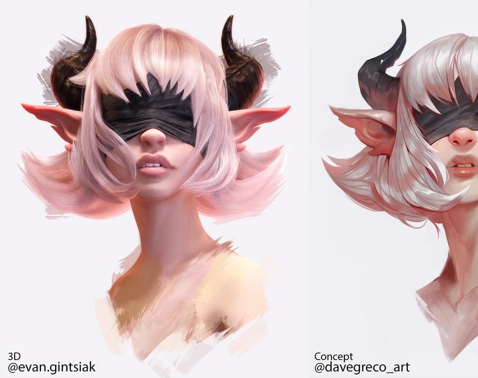 Demon Girlby Evan Gintsiak