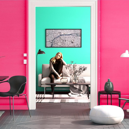 complementary colours in design