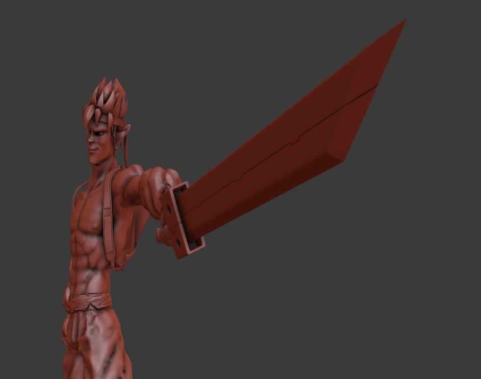 Jack Samurai Model (No texture)by Ureh Magus