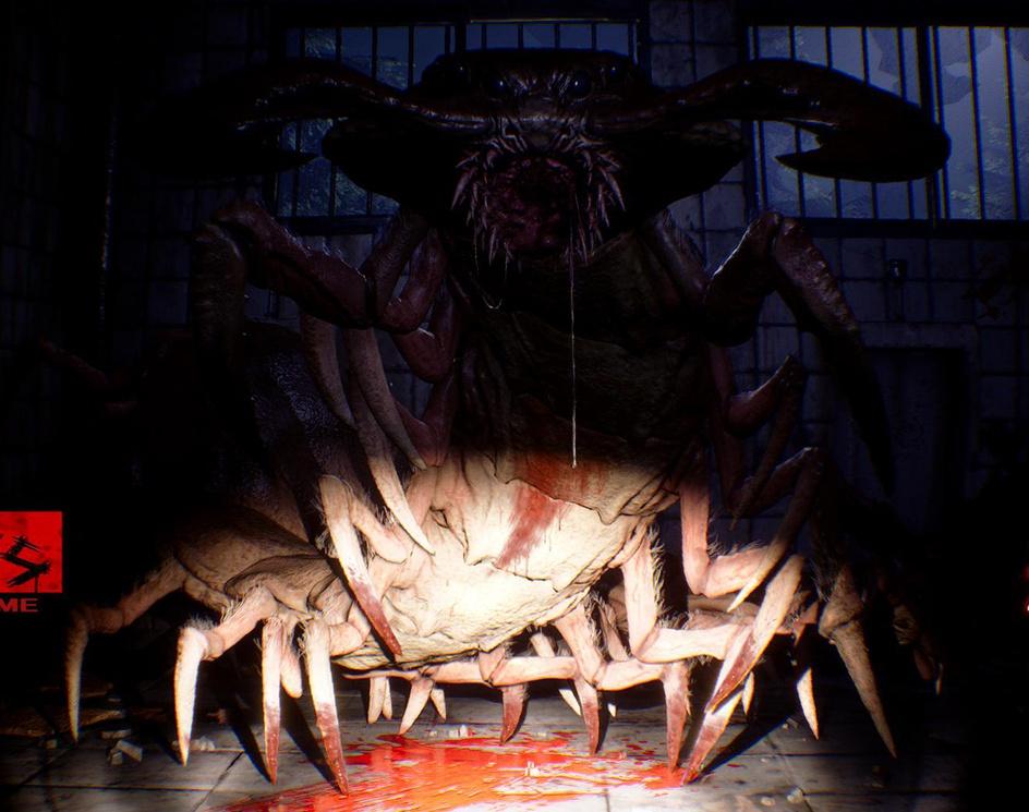 VR Horror Game Posterby Fujita Yuichiro