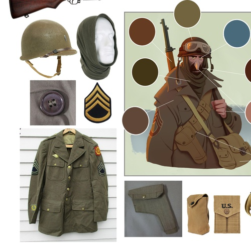 reference imagery soldier us photos