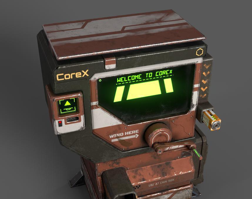 Power Core Dispenserby Grant Steyn