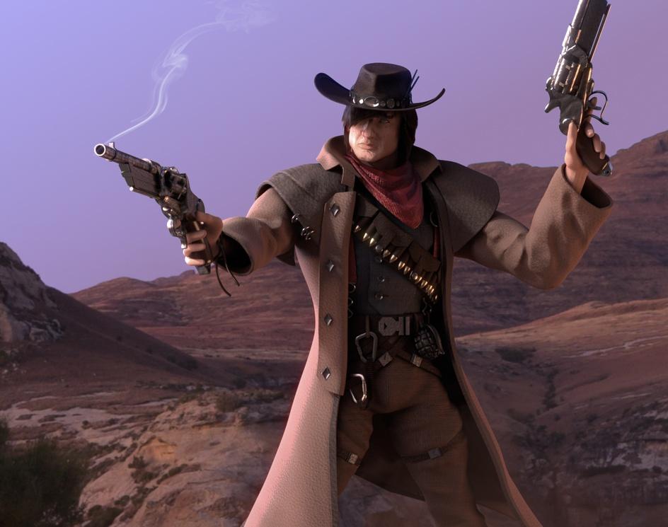 Cowboyby Simon de Rivaz