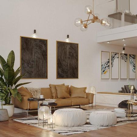 Cozy Villa Living Room