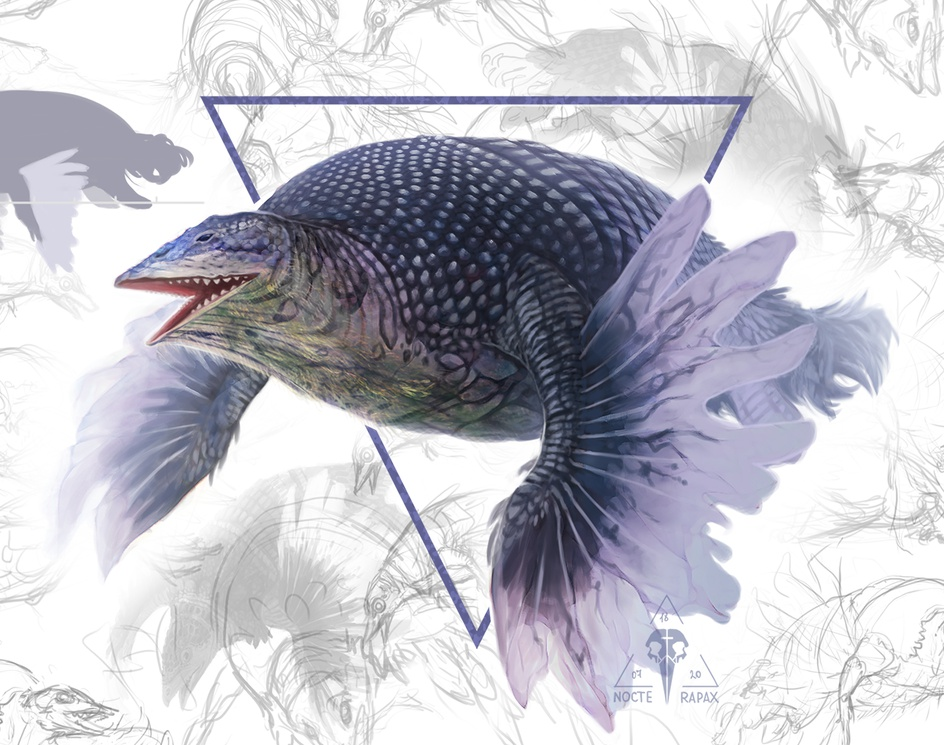 Creature design 2by Kate Ovchinnikova | Nocte Rapax