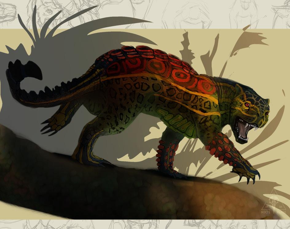 Creature design 3by Kate Ovchinnikova | Nocte Rapax