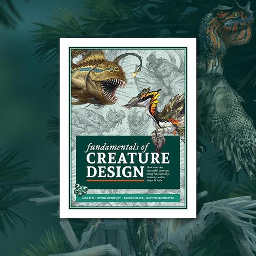 3dtotal book publishing Fundamentals of Creature Design
