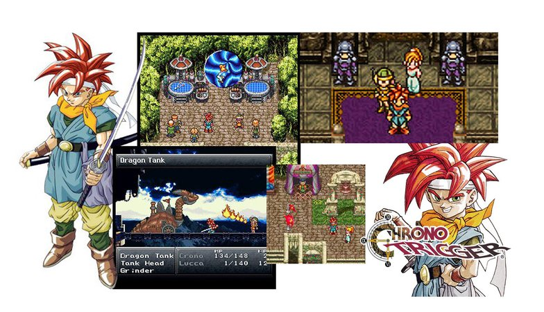 crono, chrono trigger, animation