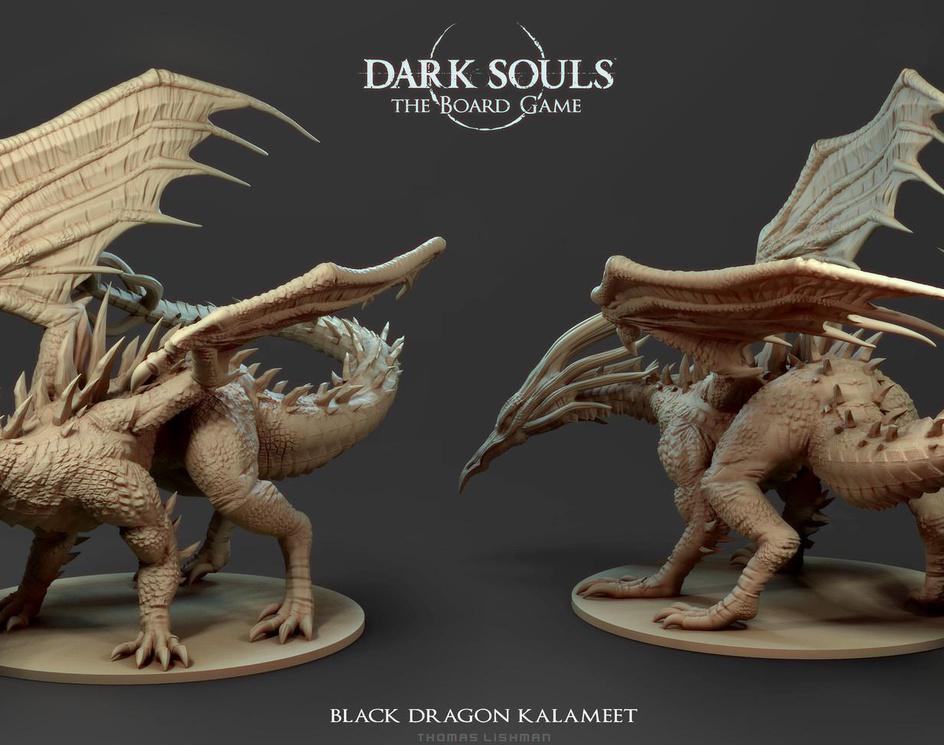 Kalameet - Dark Souls Boardgameby CRYart