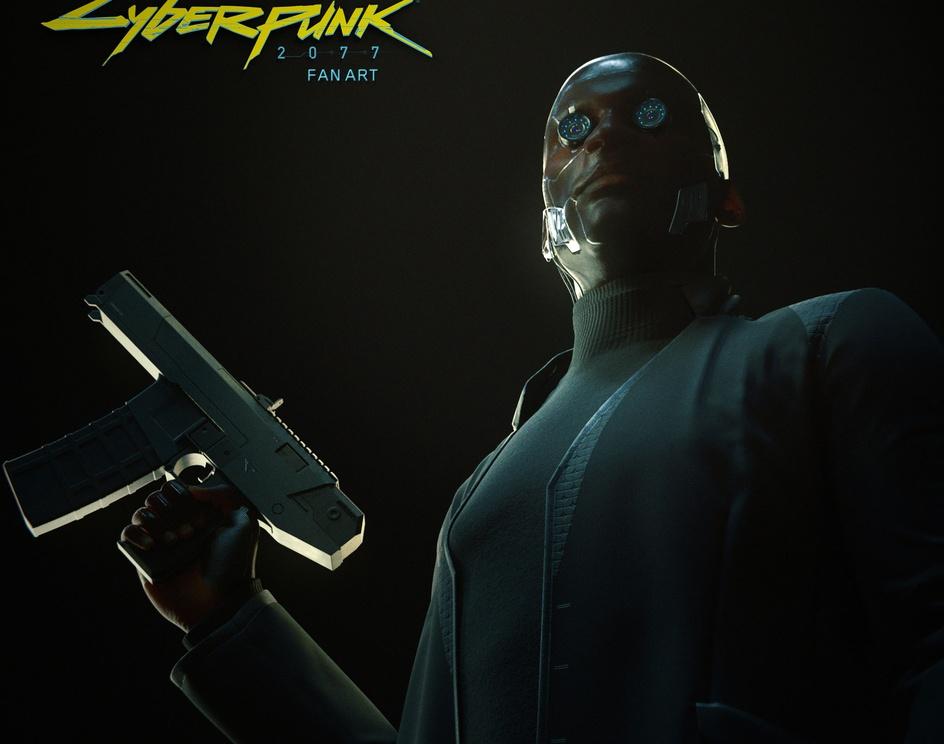 Cyberpunk 2077 Fan artby Juan Civera