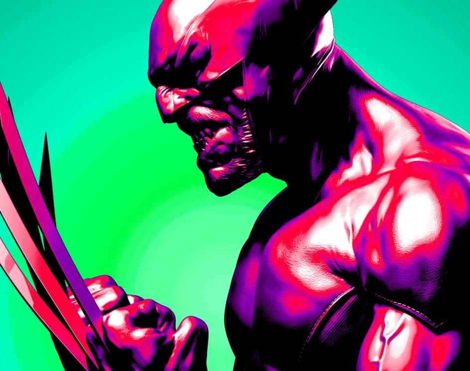Metallic Wolverine Renderby nandlaskar