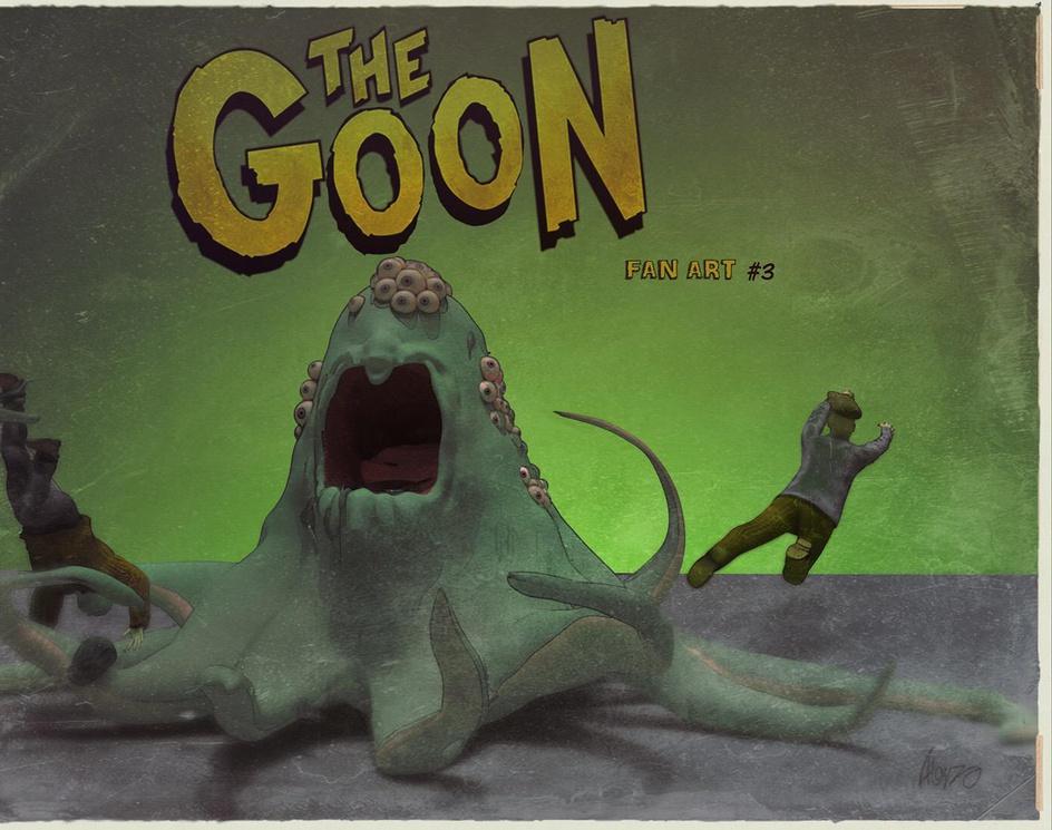 The Goon monster fan artby alvaro alonso