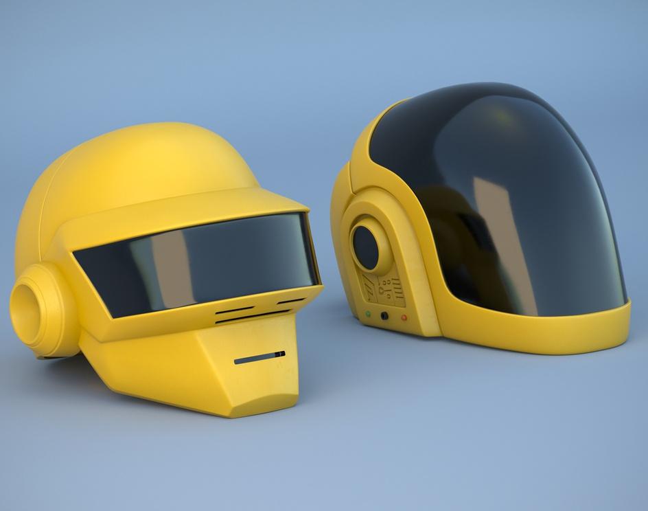 Daftpunk - Helmetsby Thomas Deffet
