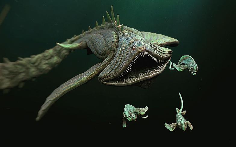 fish, sea creature, creature, monster, sea life