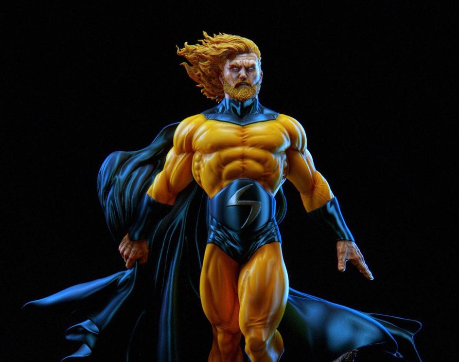 Marvel Sentry_Figure for 3D Printby Daniel Bel